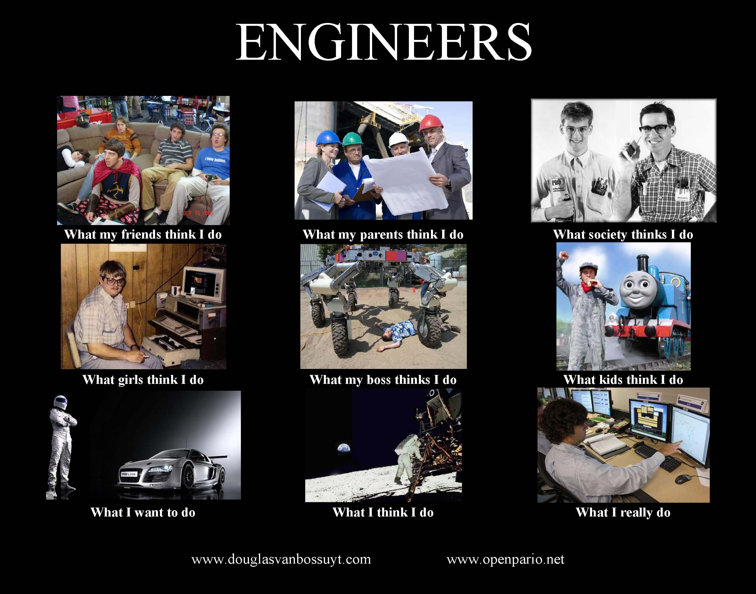 what people think engineers do not your average engineer